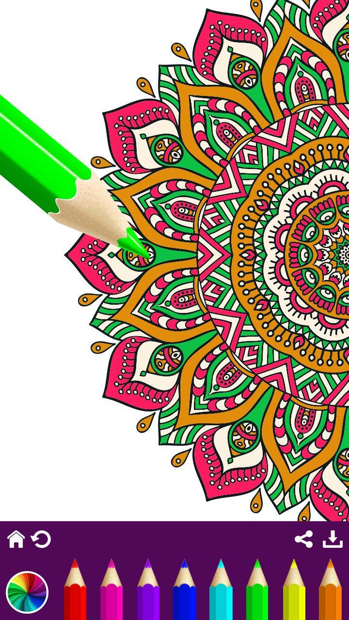 Flower Mandala Coloring Pages - Free Color Therapy for ...