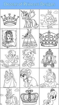 Royal Princess Coloring Book screenshot 11