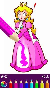 Royal Princess Coloring Book screenshot 17