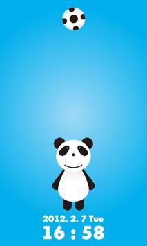 かわいい!ロックアプリPanda !!! poster