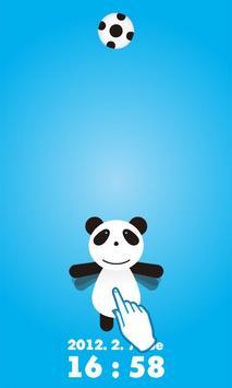 かわいい!ロックアプリPanda !!! apk screenshot