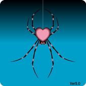 オトナカワイイ!ロックアプリ Pink Spider 5.0 icon