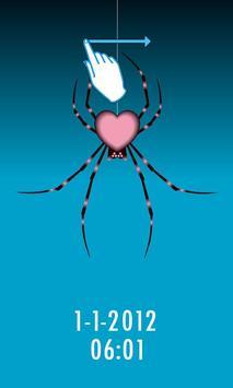 オトナカワイイ!ロックアプリ Pink Spider 5.0 apk screenshot