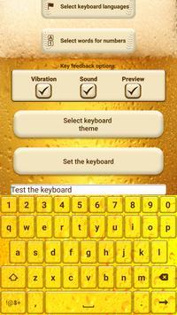 Beer Custom Keyboard Theme poster