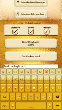 Beer Custom Keyboard Theme screenshot 1
