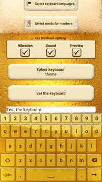 Beer Custom Keyboard Theme screenshot 2