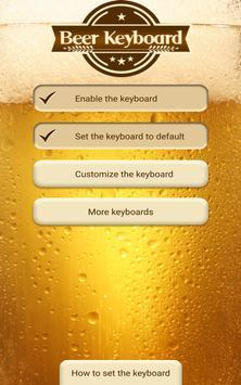 Beer Custom Keyboard Theme screenshot 5