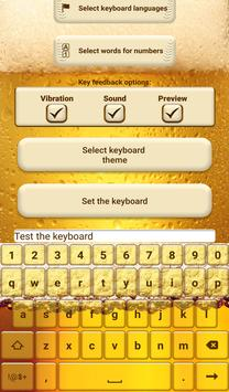 Beer Custom Keyboard Theme screenshot 6
