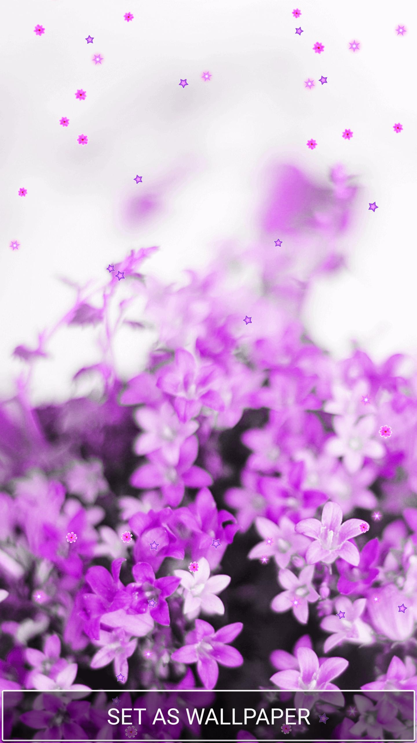 Purple Flower Wallpaper For Android Apk Download