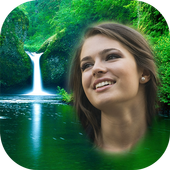 Waterfall Photo Frames icon