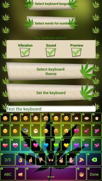 Weed Custom Keyboard Changer poster