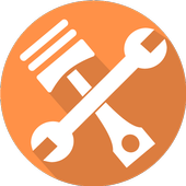 Truck Parts Cross icon