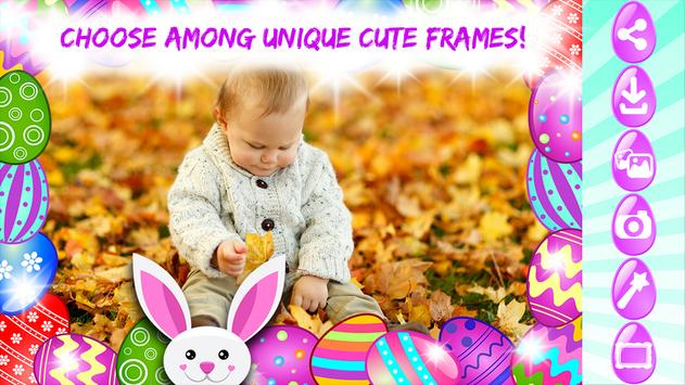 cute easter photo frames poster cute easter photo frames apk screenshot - Easter Picture Frames