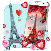 Love in Paris Live Wallpaper icon