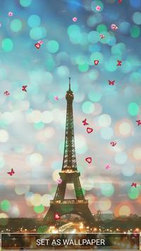 Love in Paris Live Wallpaper screenshot 1
