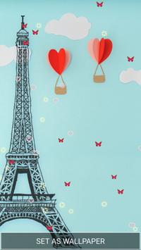 Love in Paris Live Wallpaper apk screenshot