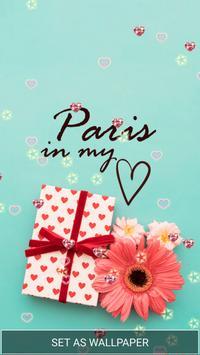 Love in Paris Live Wallpaper screenshot 4