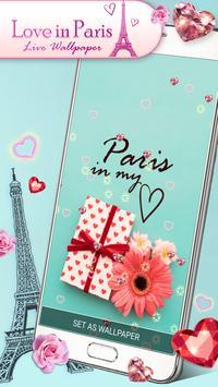 Love Paris Live Wallpaper screenshot 4