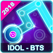 BTS Dancing Line: KPOP Music Dance Line Tiles Game أيقونة