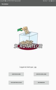 Scrutateur screenshot 1