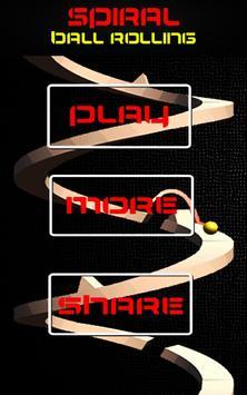 Spiral Ball Rolling Obstacle Jumper through Tower screenshot 2