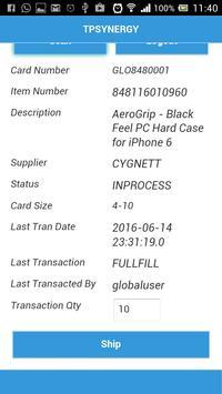 TPSynergy E-Kanban apk screenshot