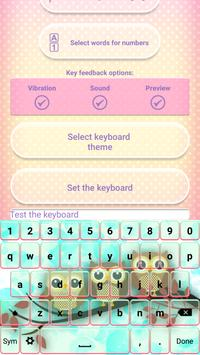 Cute Owl Emoji Keyboard screenshot 3