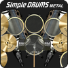 Simple Drums - Metal Zeichen