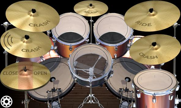 Simple Drums Rock - Realistic Drum Set apk स्क्रीनशॉट