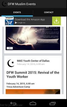 DFW Muslim Events screenshot 1
