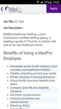 MedPro Top Jobs apk screenshot