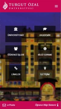 Turgut Özal Üniversitesi poster