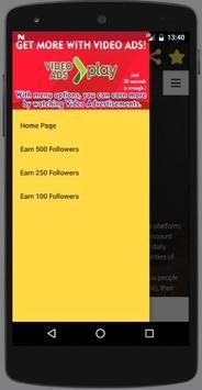 %100 Real Followers and Likes screenshot 3