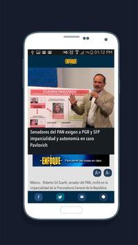 Enfoque Noticias screenshot 2