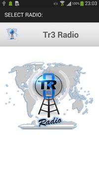 Tr3 Radio screenshot 1
