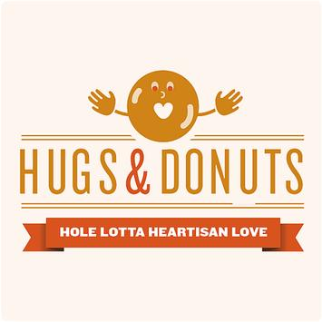 Hugs and Donuts poster