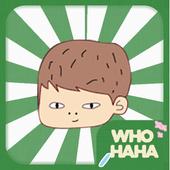 후하하(Whohaha) - 영어단어 조합게임 icon