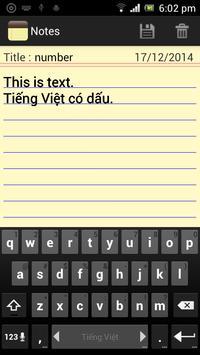 Classic Notes - Notepad screenshot 1