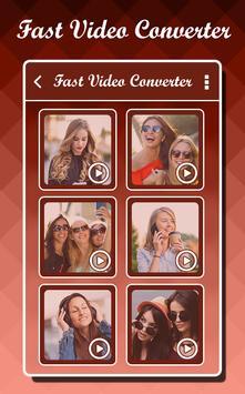 Fast Video Converter apk screenshot
