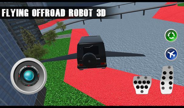 Flying Offroad 4x4 Robot 3D apk screenshot