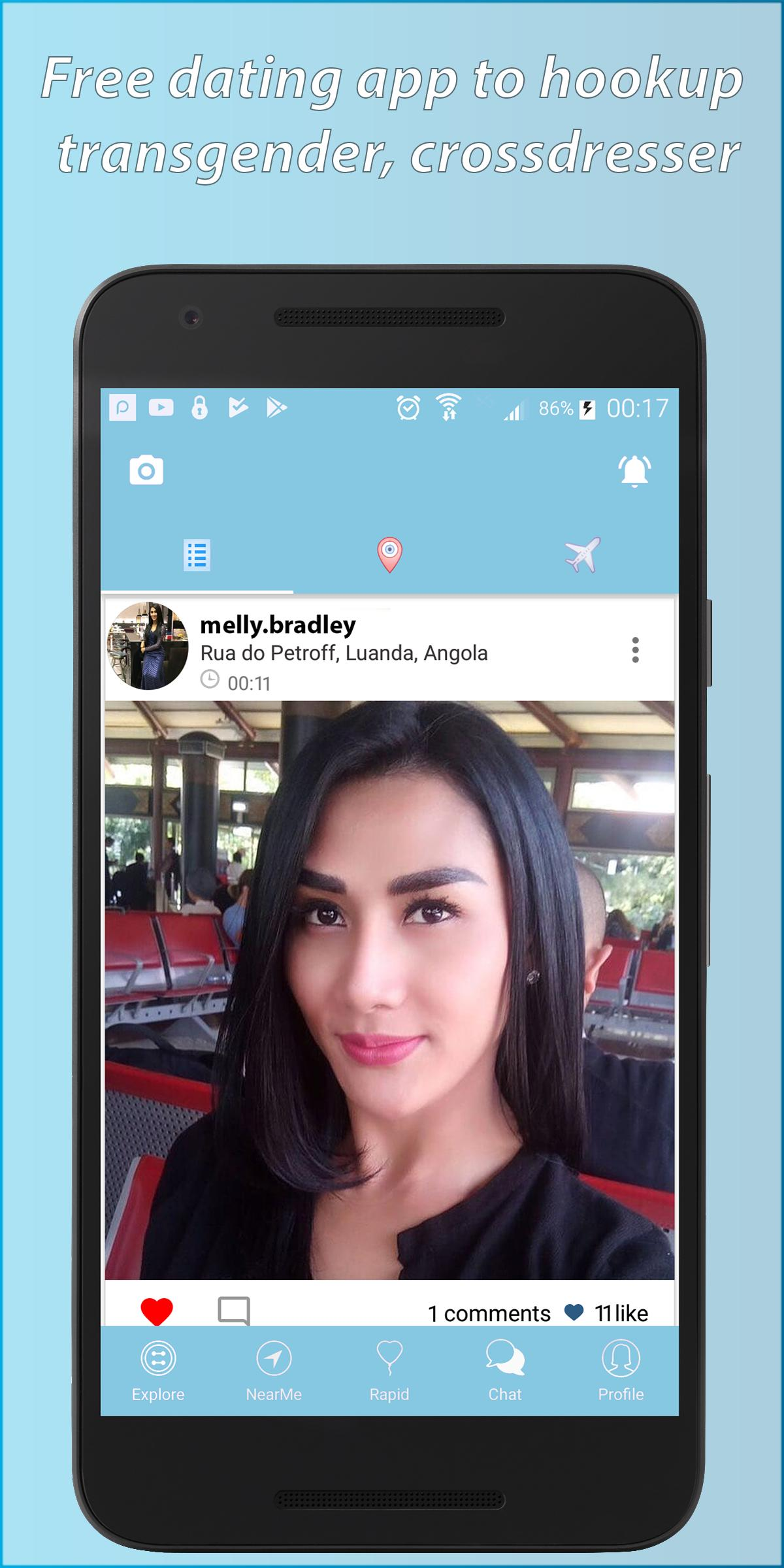 Transdr: Trans Dating App For TS, Transgender Chat APK - Download app Android (free)