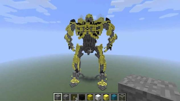 TransformCraft Mod Ideas -Mine apk screenshot