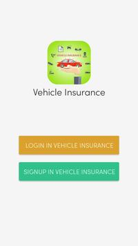 Vehicle Insurance poster