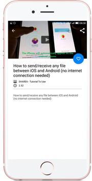 Free for shareit Video Guide apk screenshot