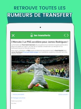 Transferts - Mercato Football screenshot 10