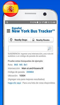 Español New York Bus Tracker™ screenshot 1