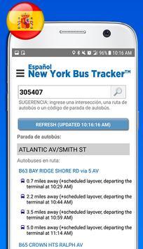 Español New York Bus Tracker™ screenshot 2