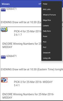 Olg Lottery Winners apk screenshot