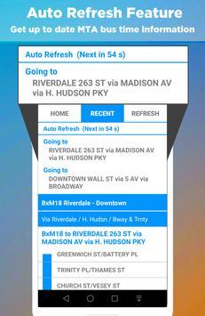 NYC Bus Time - New York Bus Tracker apk screenshot