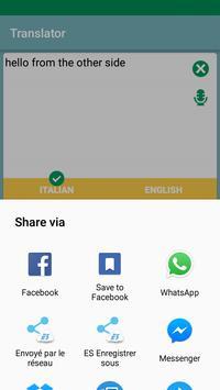 English Italian Translator App apk screenshot